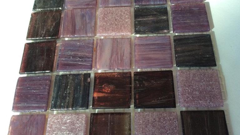 Bisazza Blend: 75 Tiles Purple tones