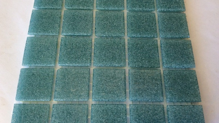 Bisazza Vetricolour: 75 Teal tiles