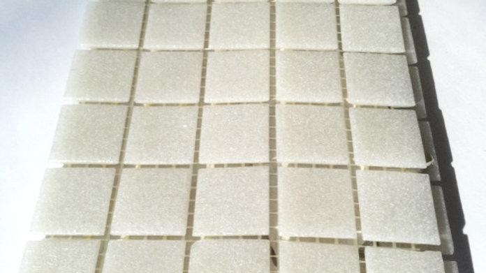 Bisazza Vetricolour: 75 Light Grey Tiles