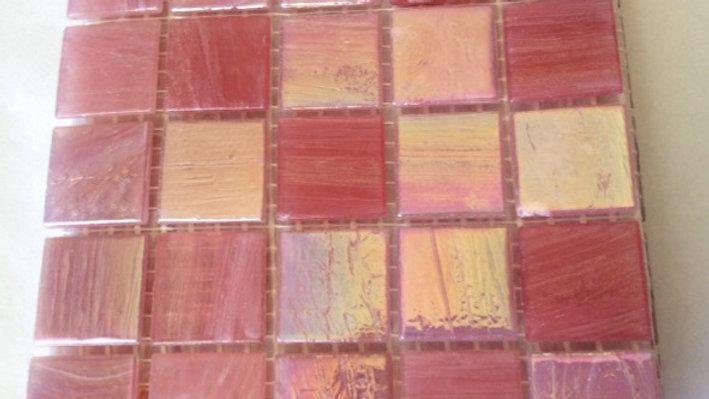 Bisazza Blends: 75 pink mosaic tiles