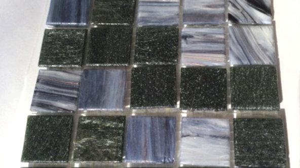 Bisazza Blend: 75 Tiles Grey/Black tones