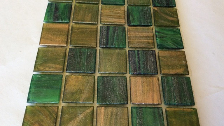 Bisazza Blends: 75 Gorgeous green Le Gemme tiles