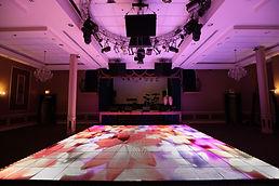 Led Dance Floor, Chicago, Wedding, Lighted Dance Floor