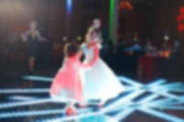 lighted dance floor for rent Quinceanera chicago
