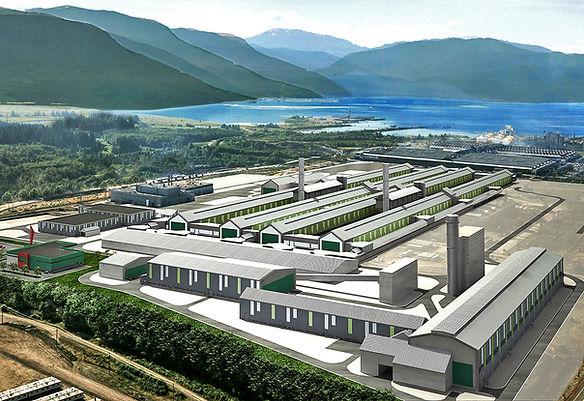 Kitimat Aluminium Smelter