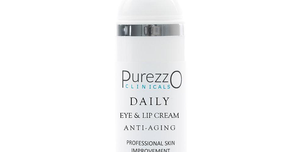 PurezzO Clinicals Daily Anti-aging Eye & Lip Cream 10 ML