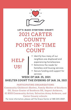 2021 Carter County POint-in-Time Count a