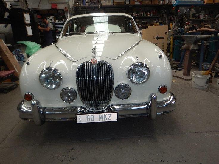 1960 Jaguar MK2 3.4