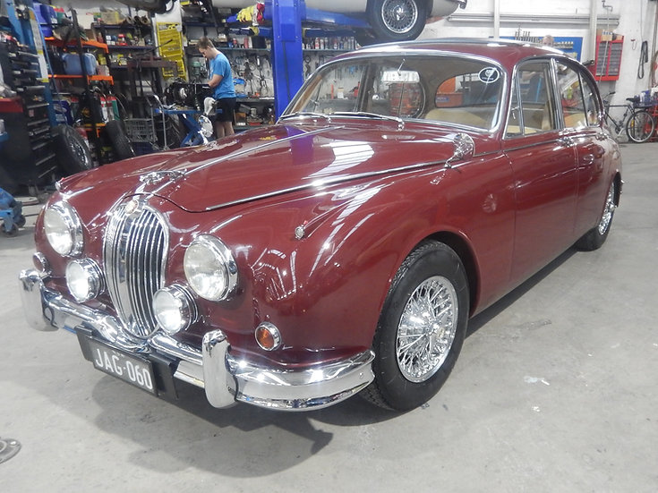1960 Jaguar Mk 2 3.8 Manual Overdrive