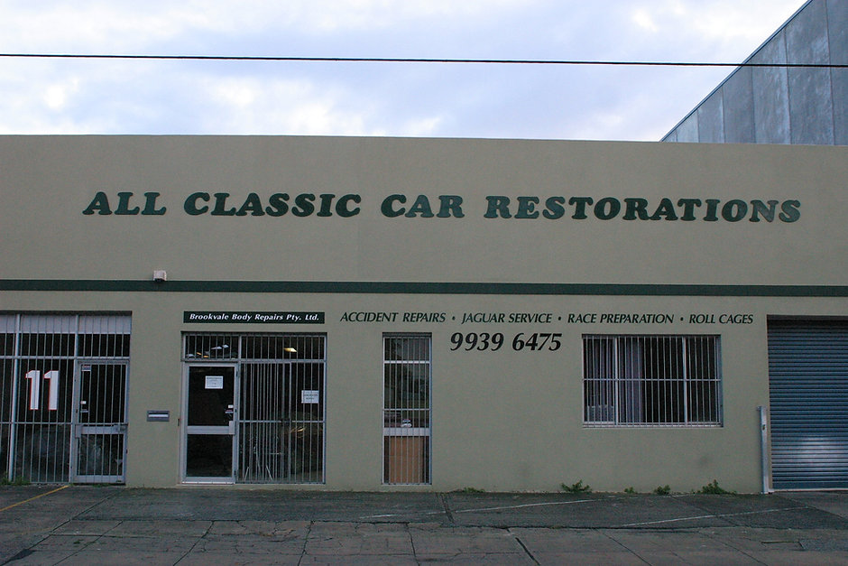 All Classic Car Restorations Brookvale Sydney NSW Australia Classic car restoration Performance mechanical work Accident repair cars for sale