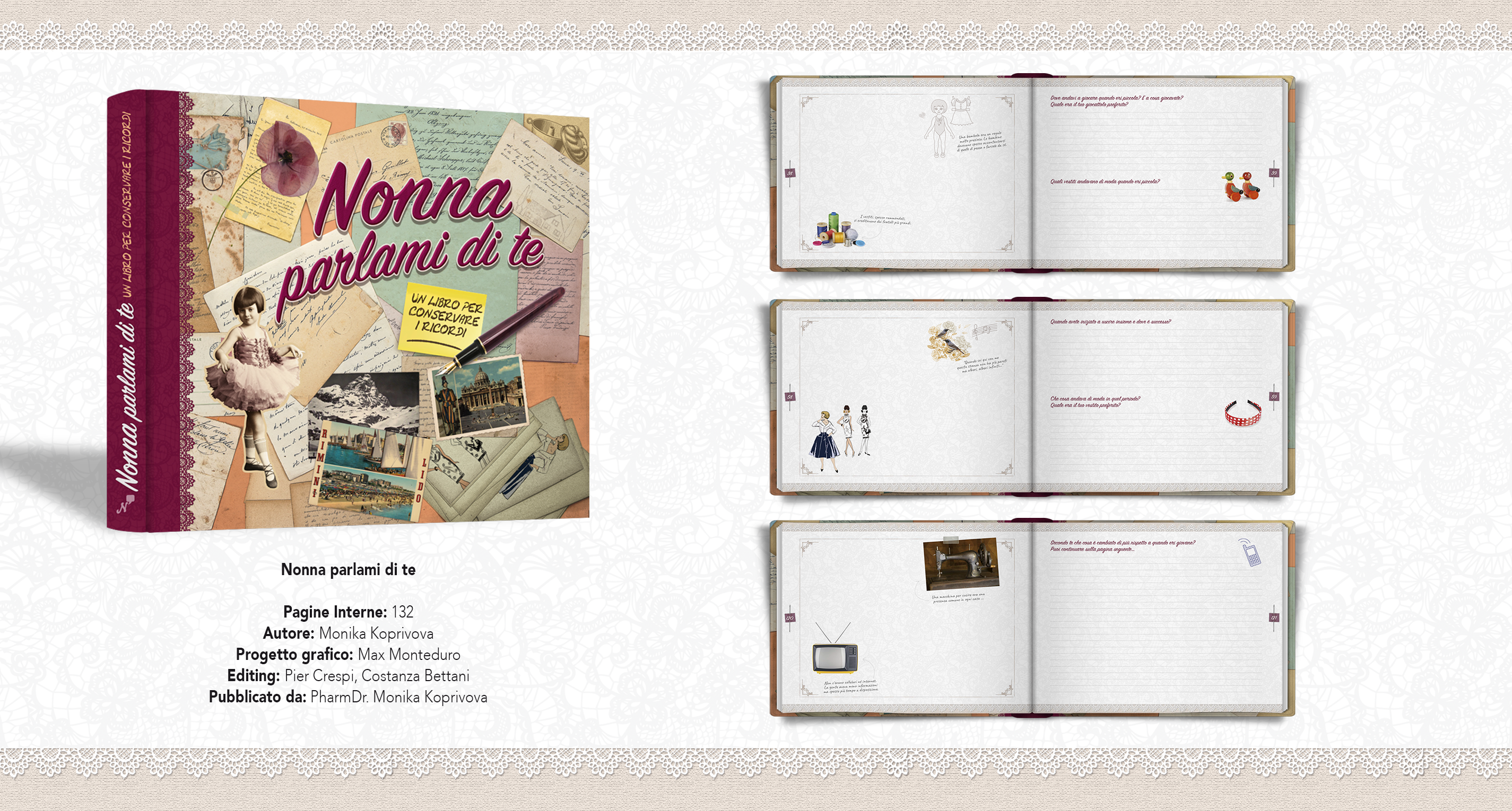 Album Nonna Parlami di te