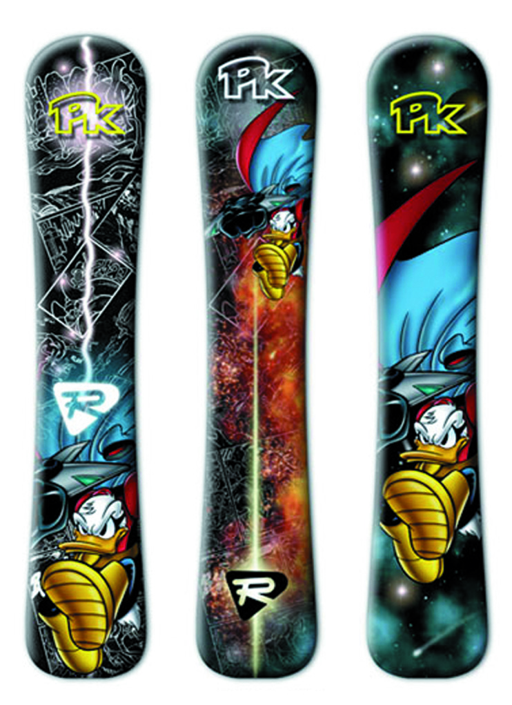 PK snowboard