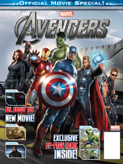 Cover Avengers Official Movie Specia