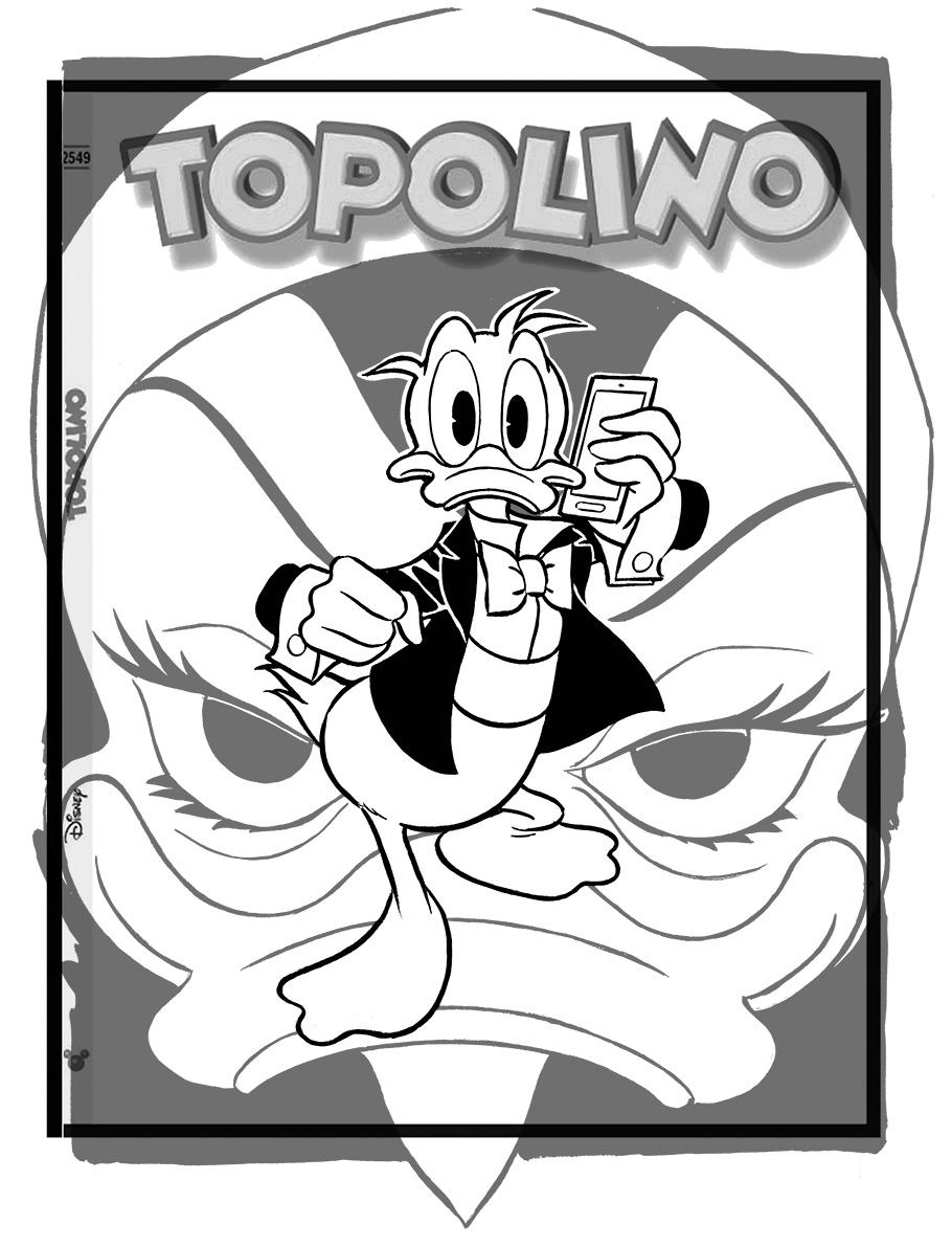 TopolinoCover3215B/N