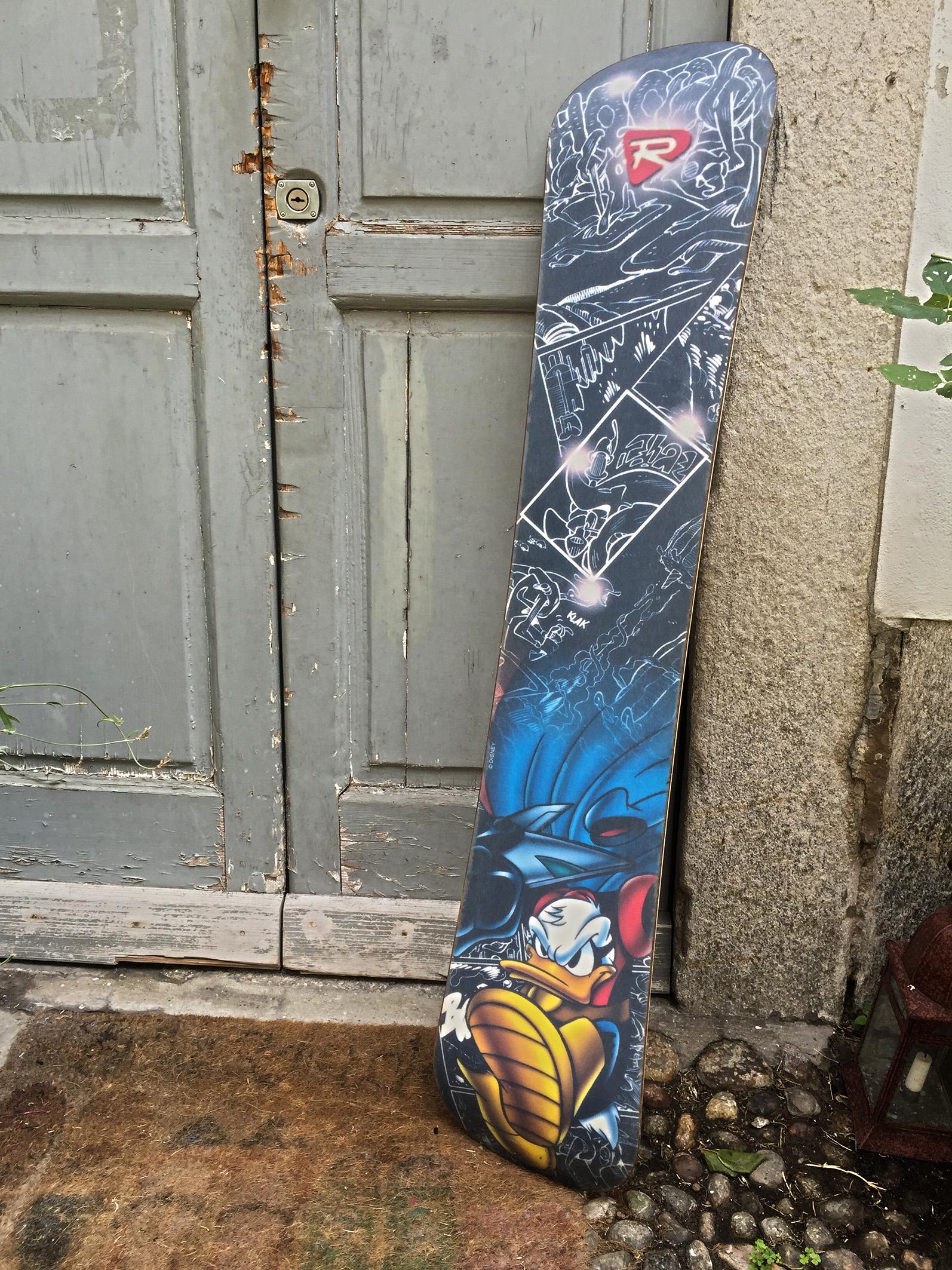Snowboard Pk retro