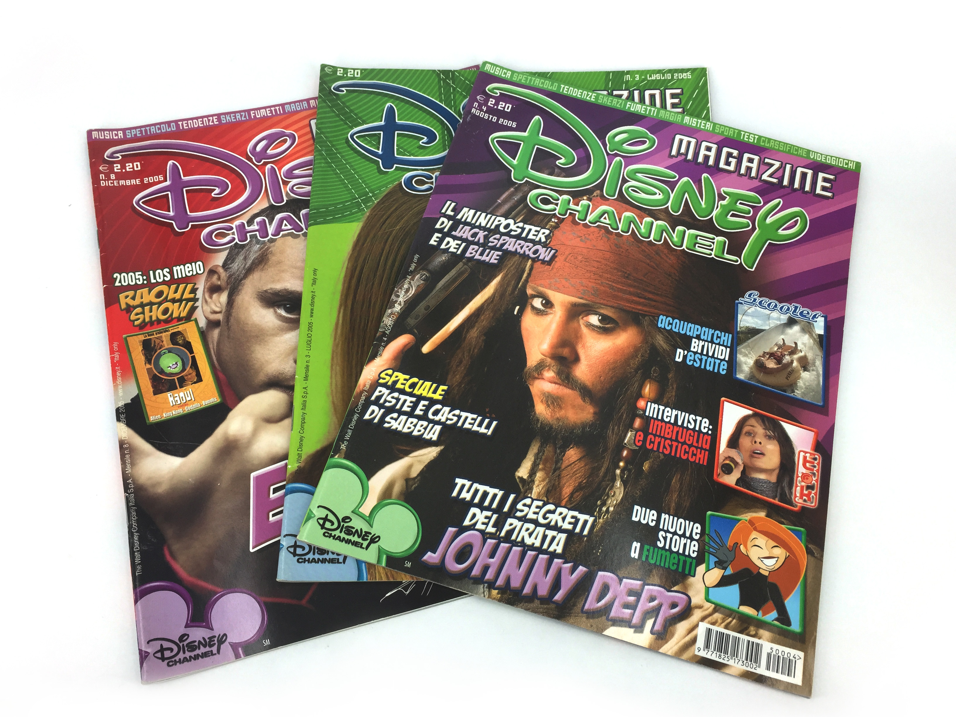 Disney Channel Magazine covers