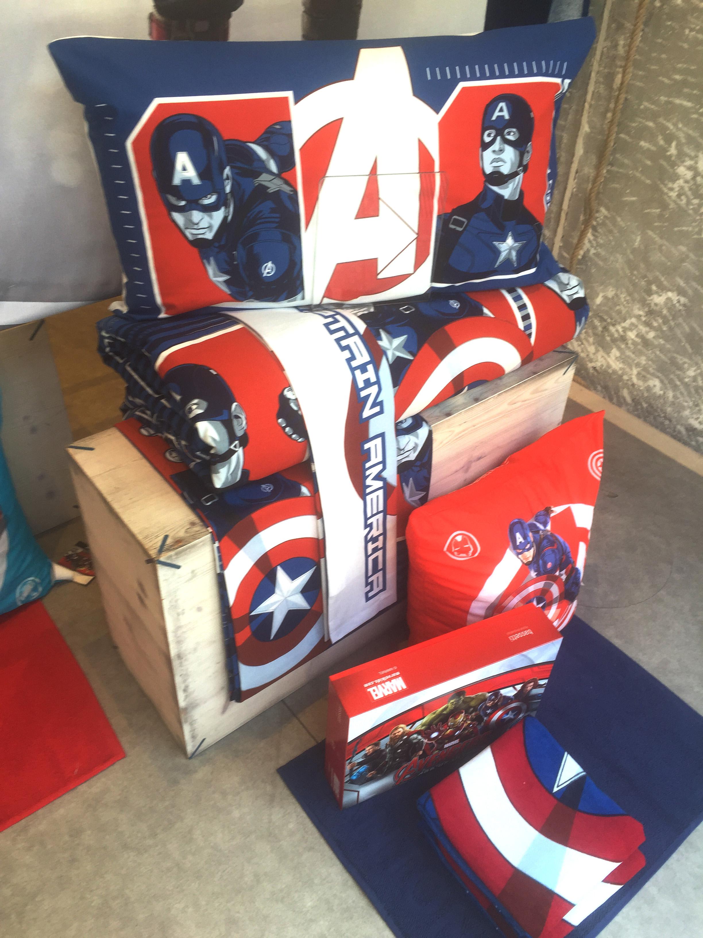 Dettagli Captain America
