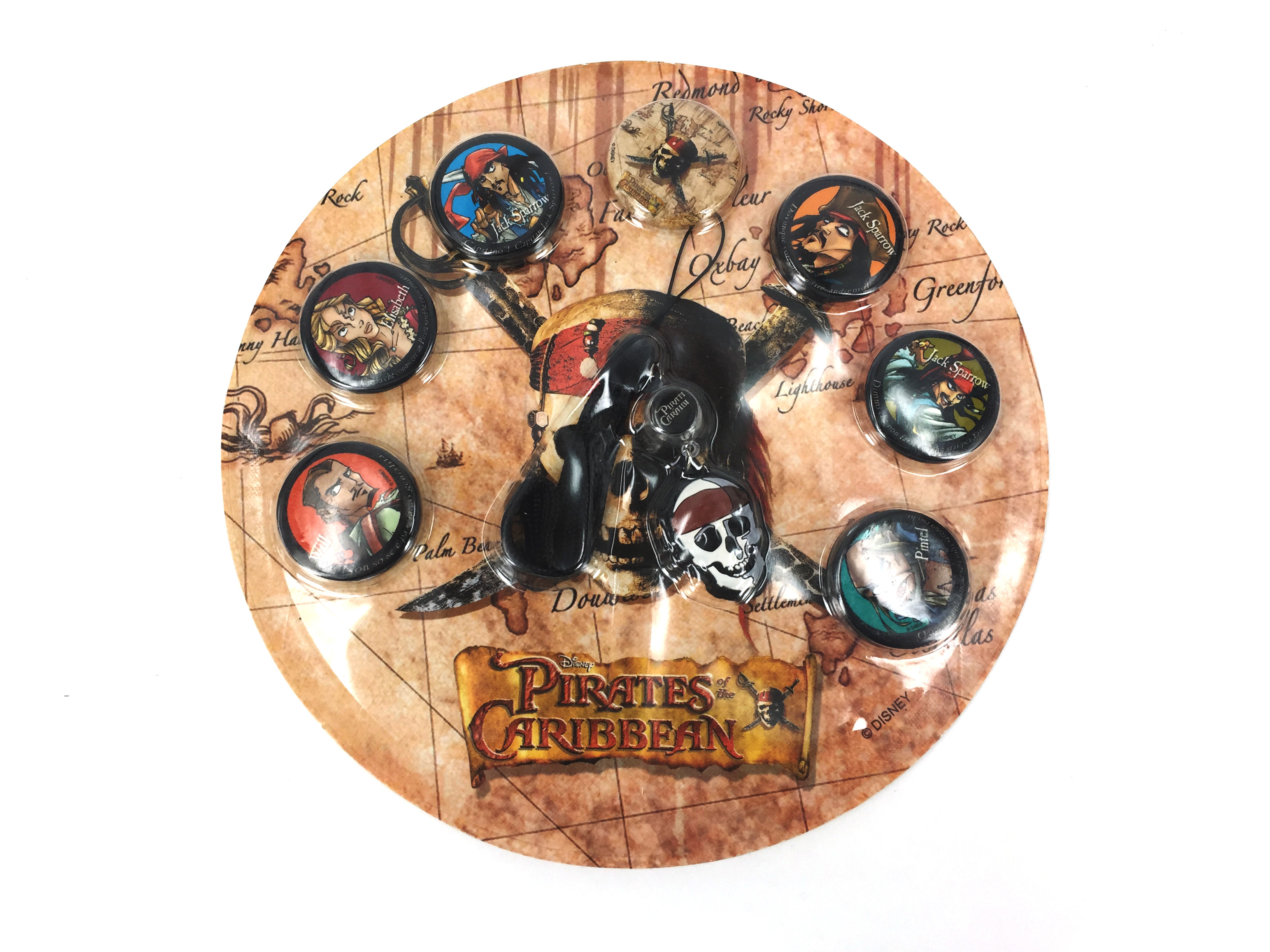 Pirates of Caribbean - Pins