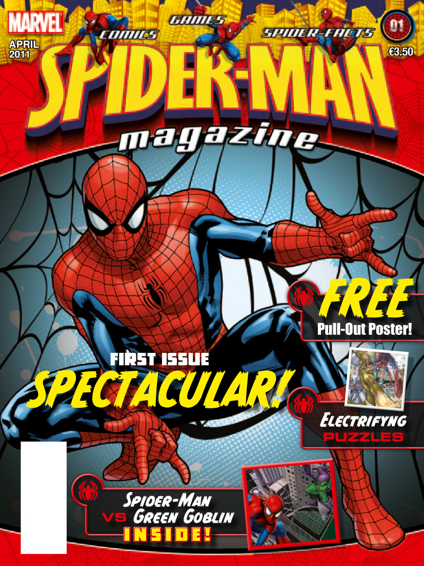cover Spider-Man magazine
