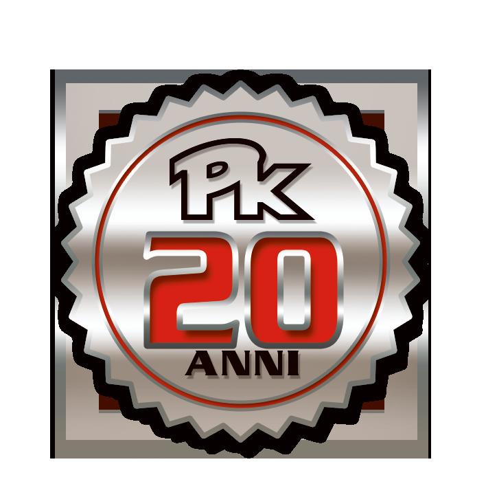 Logo PK 20 anni