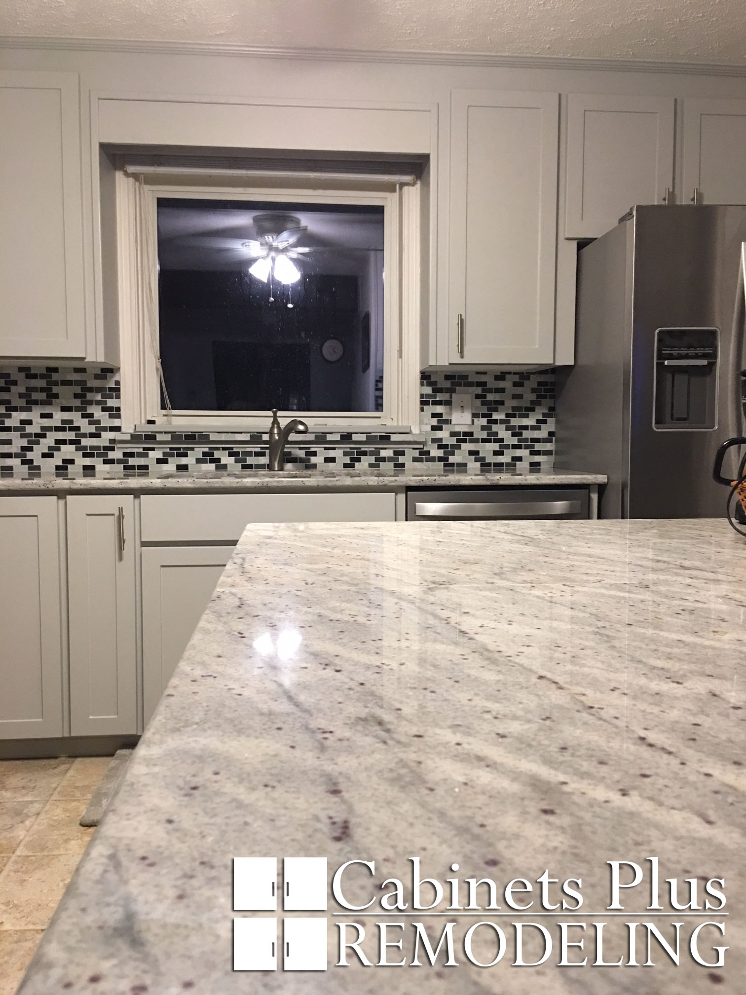 Gray Shaker and Granite