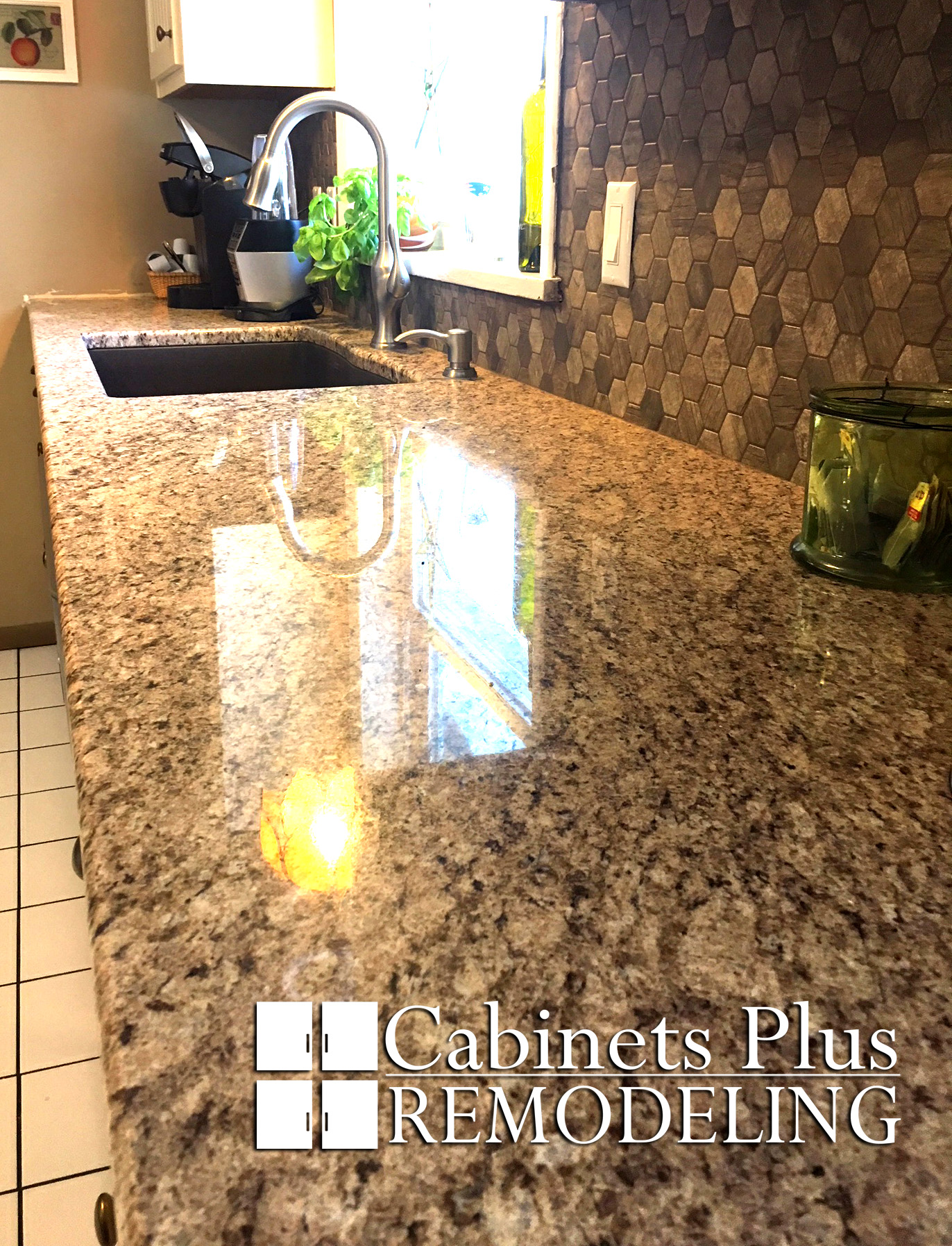 Beautiful Granite and Tile