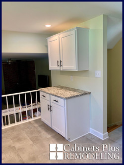 New cabinets white shaker