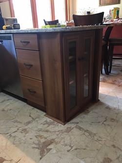 Custom Wine Glass Cabinet