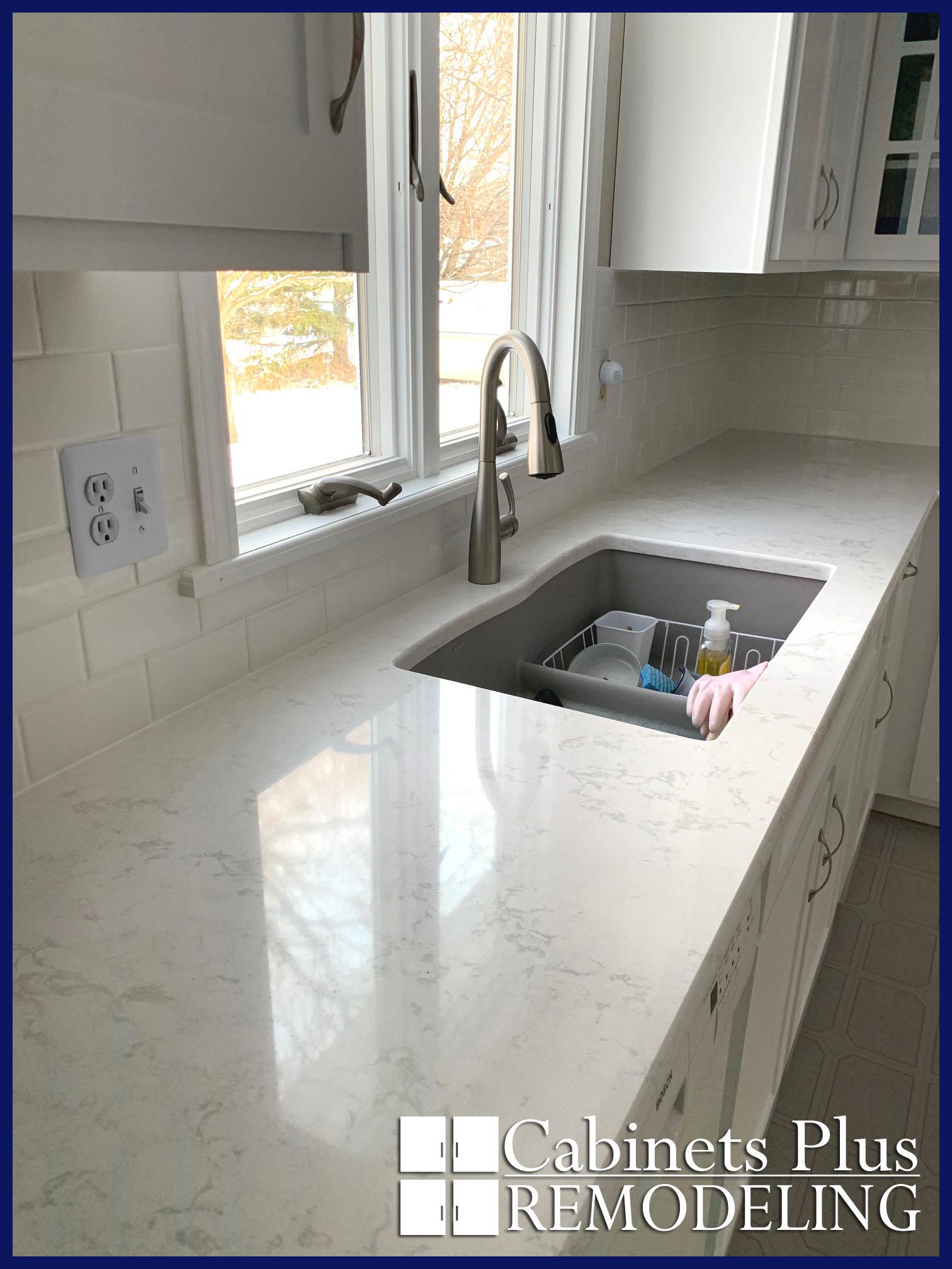 White marble quartz