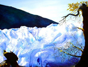 Glaciar Perito Moreno, de Paula Franco