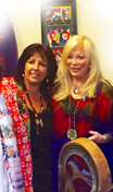 con Lynn Andrews, en Arizona