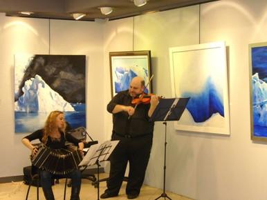 Adolfo Halsband_ violin, Paula_ Bandoneo