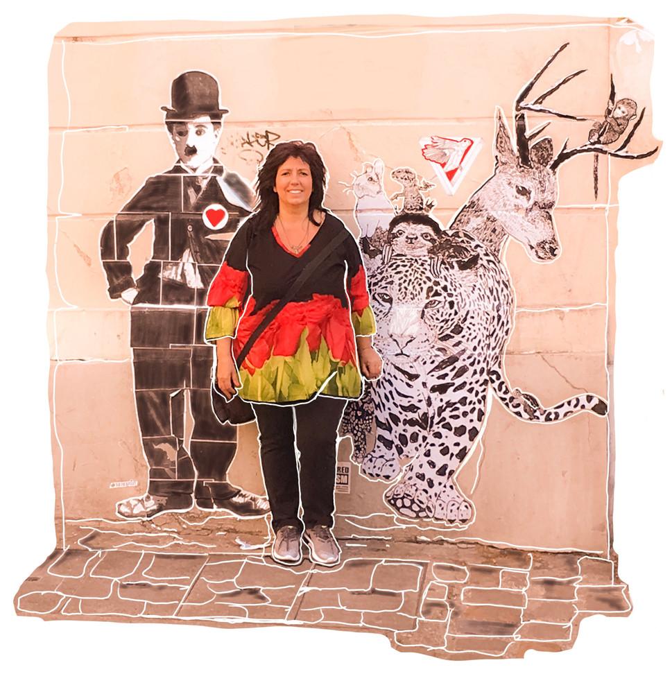 Grafiti de  Paris Francia
