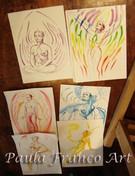 Bocetos de Alex Grey