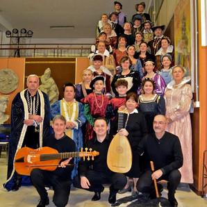 Gruppo dello spettacolo Lucrezia500