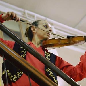 Ballerina con violino