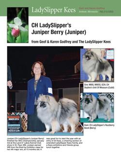 Godfrey's Juniper Ad - Jan-Feb 2015
