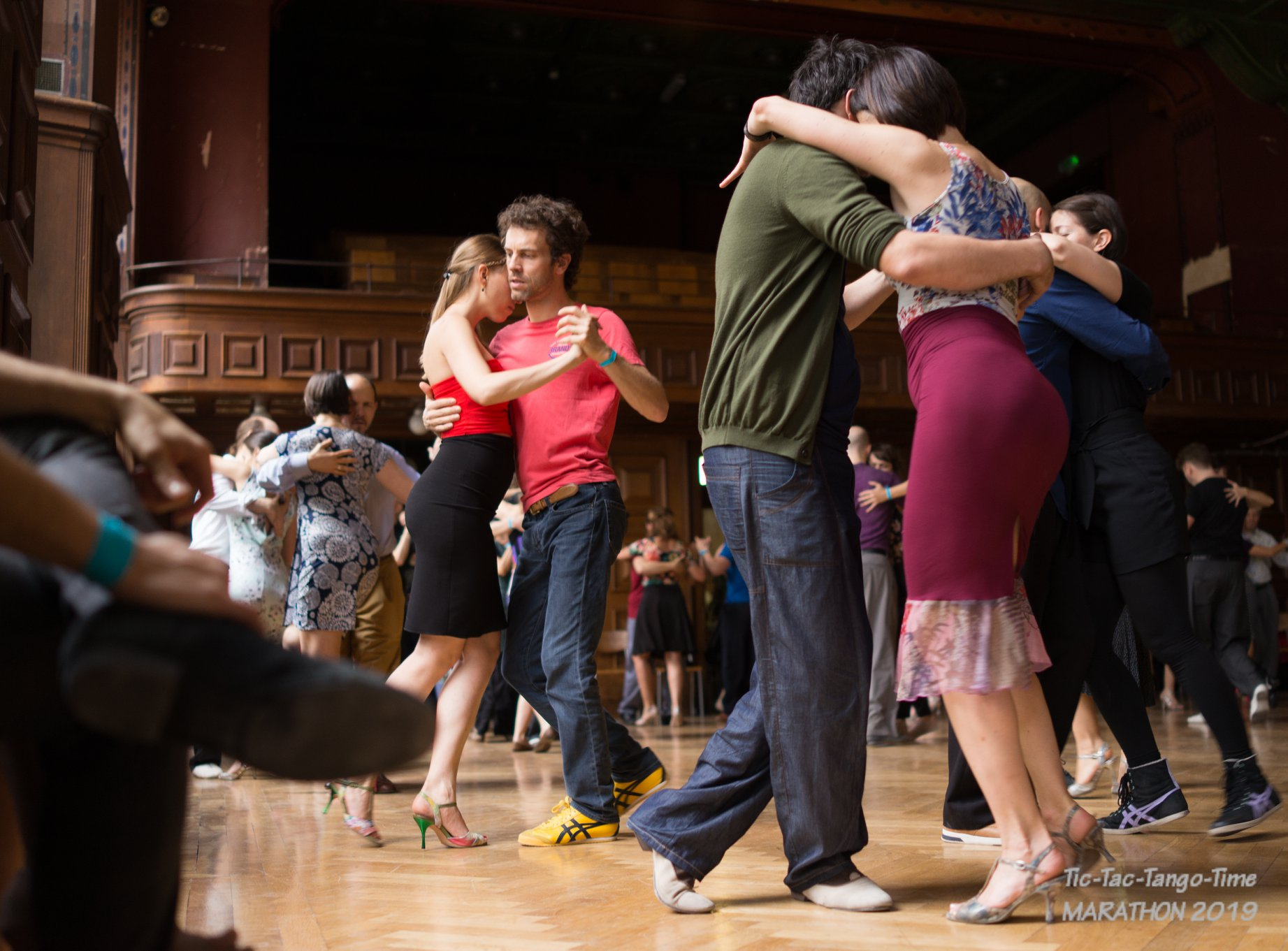 community hall du Faubourg Tango