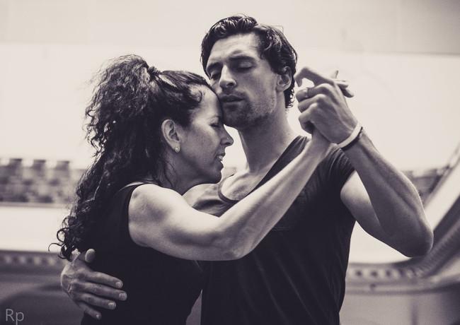 Tango dancers Tic-Tac-Tango-Time 2020