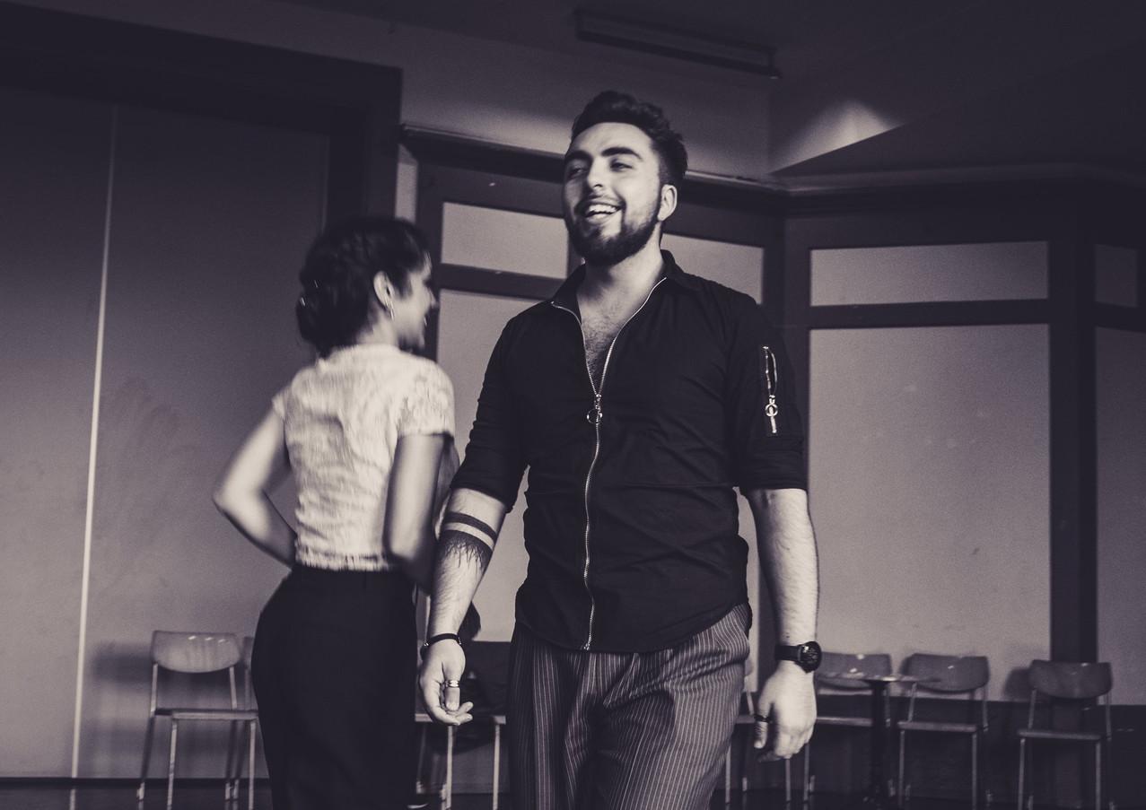 Clarisa y Jonathan Tango teachers