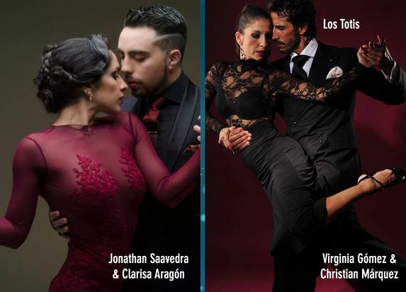 Clarisa Aragon Jonathan Saavedra | Virginia Gomez Christian Marquez Tango