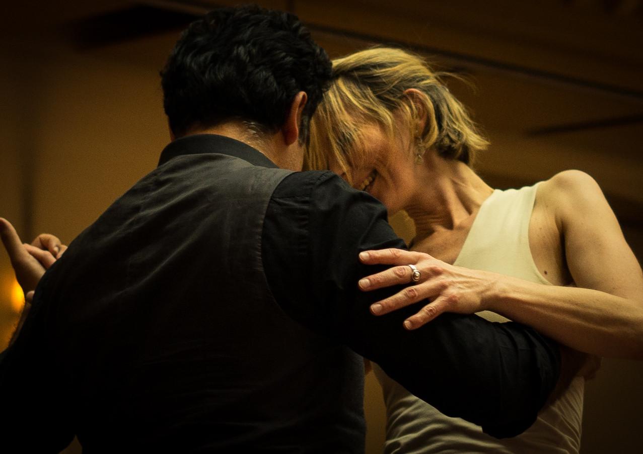 Murat + Liliana Tango dancing Tango Festival Geneva