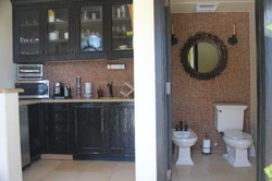 Kitchenette and Water Closet