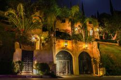 Los Angeles Villa at night