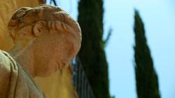 Goddess Statue at The Villa Sophia