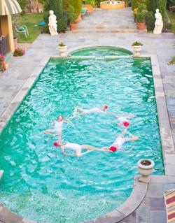 Aqualillies Photo Shoot Villa Sophia