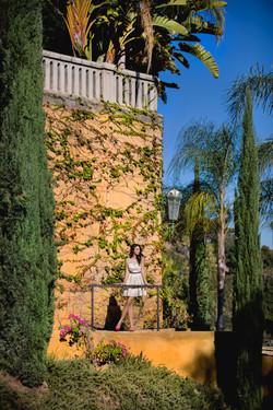 Castle Wall Photo Shoot Los Angeles