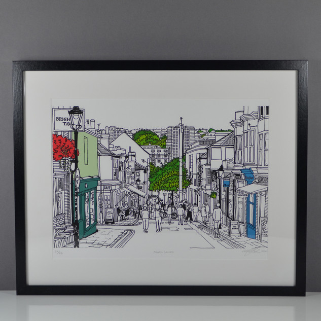 North_Laines_framed