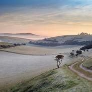 Fields near Telscombe Sussex