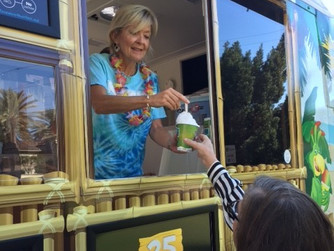 Melting the ice: local author chronicles adventures aboard a snow-cone truck